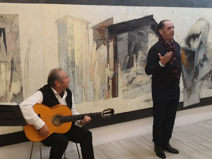The flamenco touch of the night, by the hand of the Pérez brothers