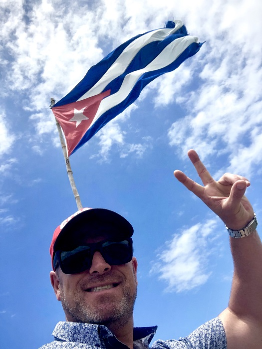 Nuno expresses his love for Cuba