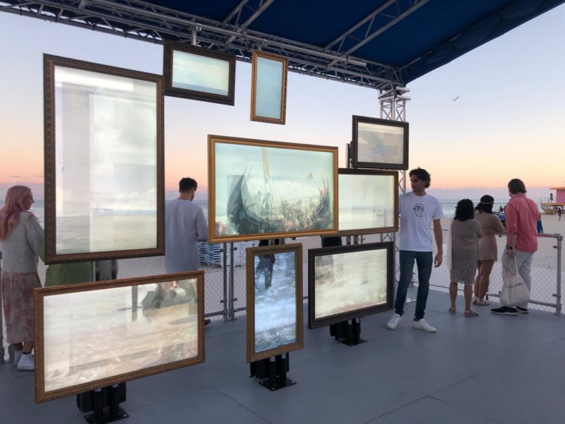 Untitled Art Fair: The sea as the protagonist