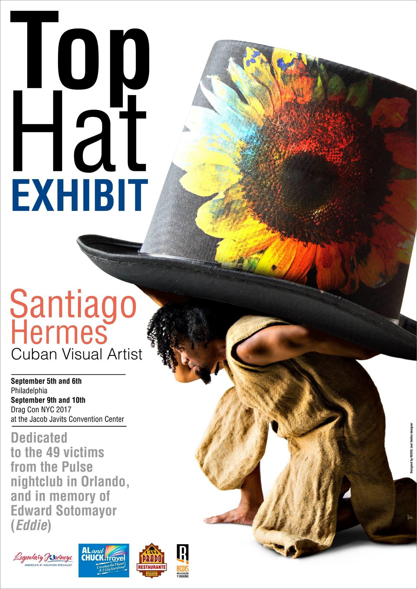 cartel del evento- santiago hermes