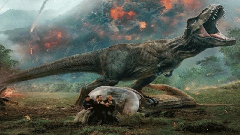 """""""Jurassic World:  Fallen Kingdom"""" Film Leads U.S. Box Office"""