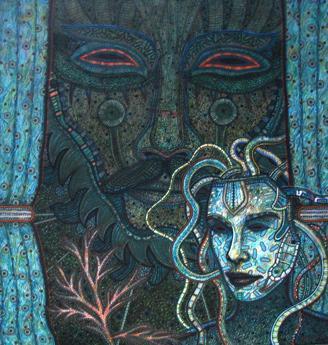 Máscaras. Manuel López Oliva