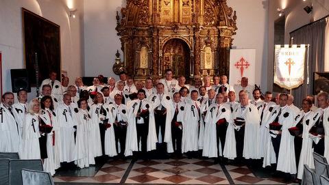 Juramentados nuevos miembros de La Orden del Camino de Santiago