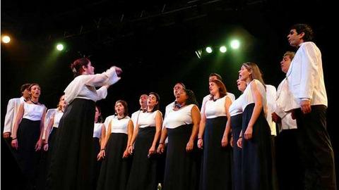 Schola Cantorum Coralina en homenaje a Glenn Gould