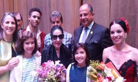 Concluye visita a Costa Rica Alicia Alonso y Ballet Nacional de Cuba
