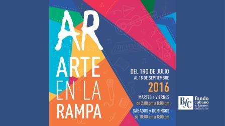 Comienza hoy en La Habana Feria Arte en La Rampa 2016