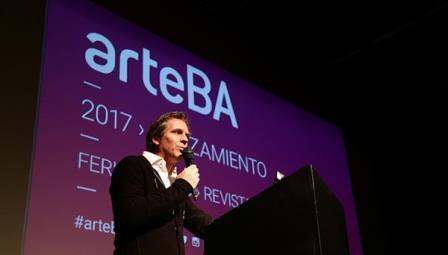 Lanzamiento. arteBA 2017