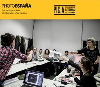 Máster PHotoEspaña. Teorías y proyectos artísticos en PIC.A Escuela Internacional Alcobendas PHotoEspaña