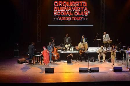 Buena Vista Social Club se despidió del escenario por todo lo alto
