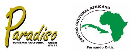 "International Conference ""Cultura africana y afroamericana"" in Santiago de Cuba"
