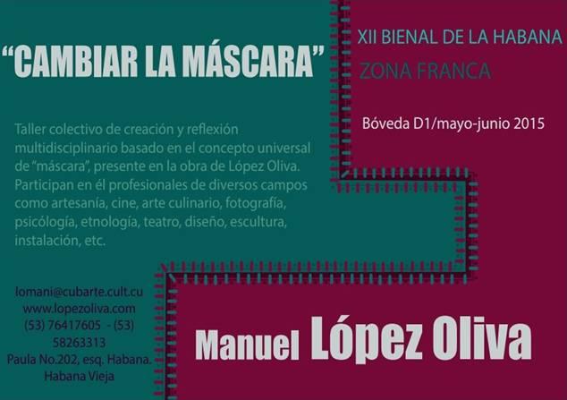 López Oliva en Zona Franca: Juegos de máscaras
