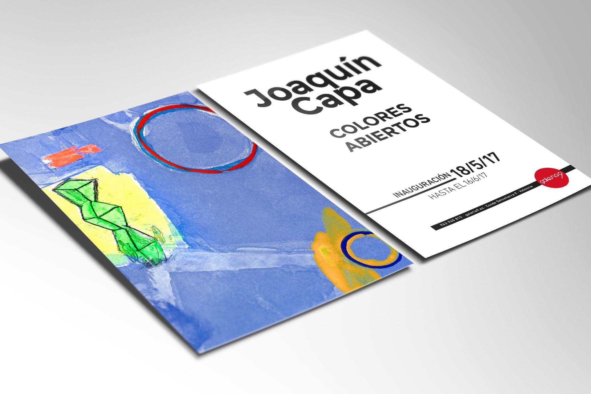 Inauguración «Joaquín Capa: Colores Abiertos»