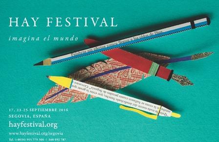 El escritor Santiago Posteguillo inicia la XI edición del Hay Festival en Segovia