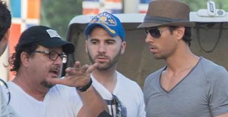 Spanish Singer Enrique Iglesias Shoots Video Clip in Cuba