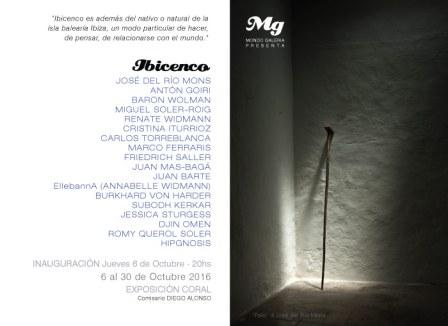 """""""Ibicenco"""" exposición coral de artistas en el CC de JESÚS / IBIZA"""