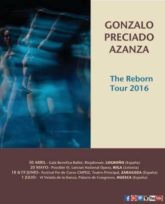 El bailarín, Gonzalo Preciado Azanza anuncia su primera gira individual