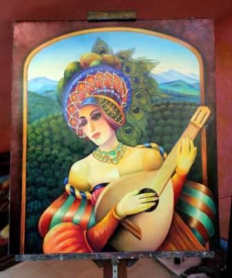 En Toronto exhiben obras de hondureños Visquerra y Martínez
