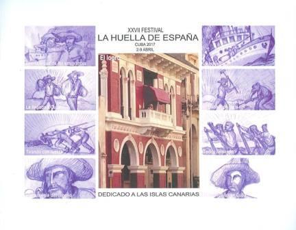 Estampa de Canarias en Festival La Huella de España