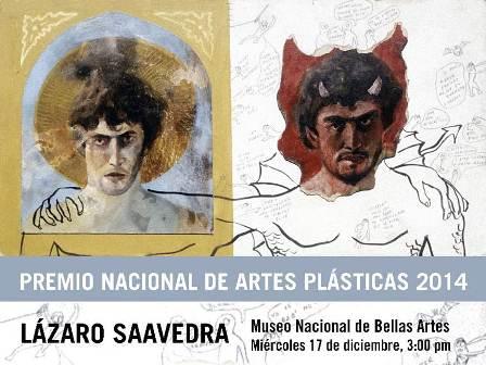 Lázaro Saavedra: 2014 National Plastic Arts Award