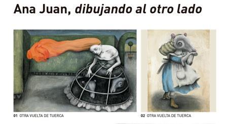 Otra forma de descubrir los dibujos de Ana Juan