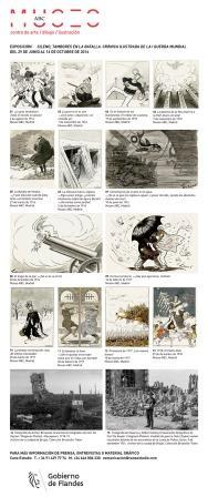 Exposición Sileno, tambores en la batalla. Crónica ilustrada la I Guerra Mundial