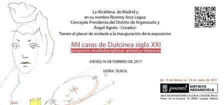 """Proyecto Artístico Multidisciplinar """"Mil caras de Dulcinea siglo XXI""""  se presentará en Madrid y Toledo"""