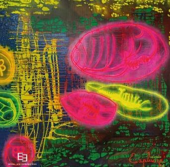 """En la Galería de Arte Enlace Arte Contemporáneo Hernán Espinoza crea la tercera dimensión en """"Del origen al Cosmos"""""""