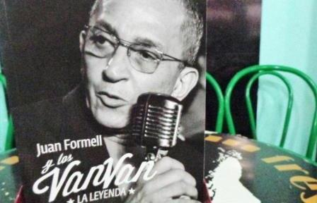 Book about Juan Formell and Los Van Van presented in Havana