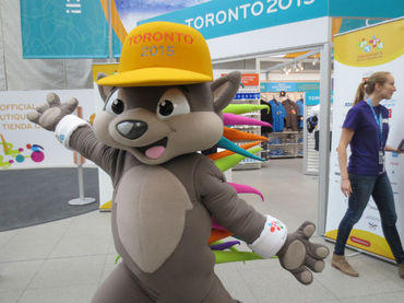 Toronto ya vive la fiebre panamericana