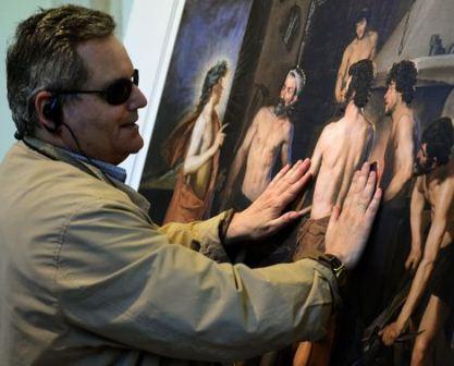 Museo del Prado presenta una exposición especial para no videntes