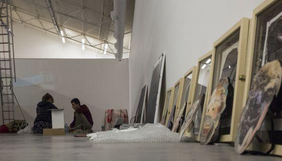 El arte se abre hueco en un barrio judío de Buenos Aires