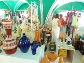 Gran Feria comercial del Fondo Cubano de Bienes Culturales en Santiago