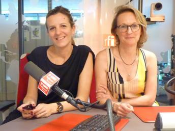 """Paula Aisemberg y Albertine de Galbert, curadoras de la exposición """"My Buenos Aires"""" en La Maison Rouge de París"""