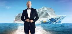 Pitbull será padrino del Norwegian Escape