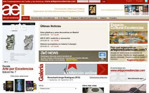 Arte por Excelencias Magazine launches new website
