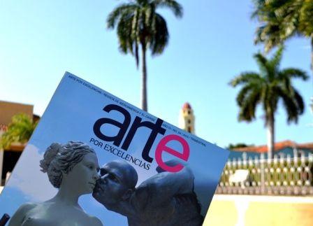 Revista Arte por Excelencias entroniza a creadores contemporáneos de Trinidad (+ fotos)