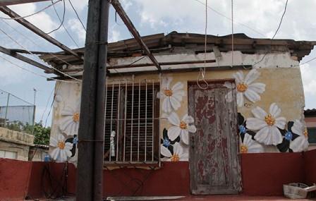 Los colores de Romerillo en la Bienal de La Habana