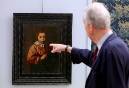 Sale a subasta un retrato de una niña atribuido a Velázquez