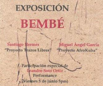 Proyecto expositivo BEMBÉ
