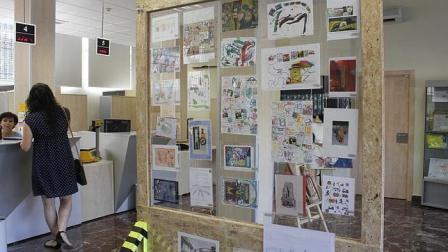 Inaugurada en Toledo la exposición internacional «Mail Art» sobre la infancia