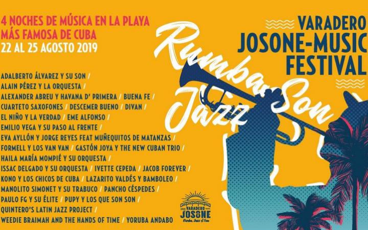 Varadero wears rumba, jazz and son