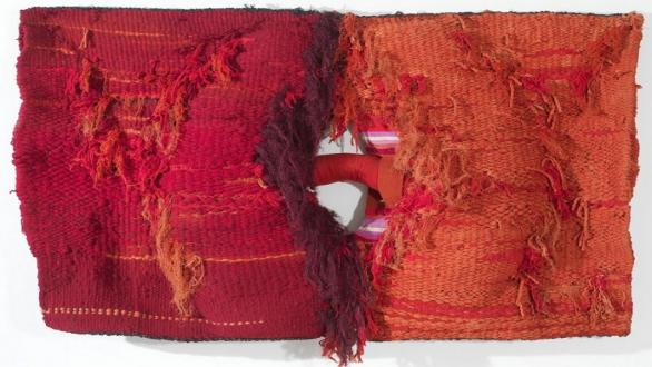 Lligam 1973 Wool, cotton and syntetic fibers 120 x 167 cm