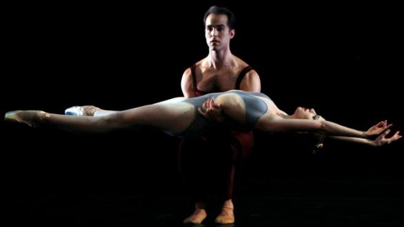 Jared Angle and Teresa Reichlen, with New York City Ballet, performing in Liturgy in Havana