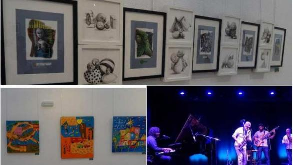 collective exhibition of Cuban painters