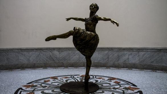 The sculpture that pays homage to Alicia Alonso