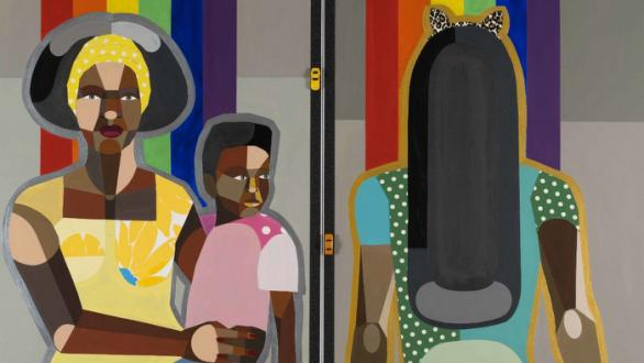 Derrick Adams The Ins and Outs: Figures in the Urban Landscape
