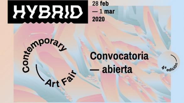 cartel de HYBRID Art Fair 2020
