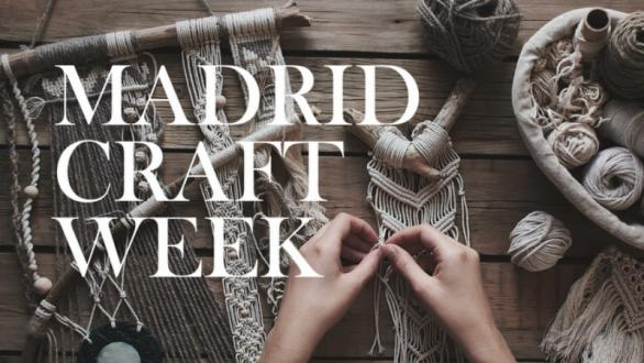Cartel de Madrid Craft Week