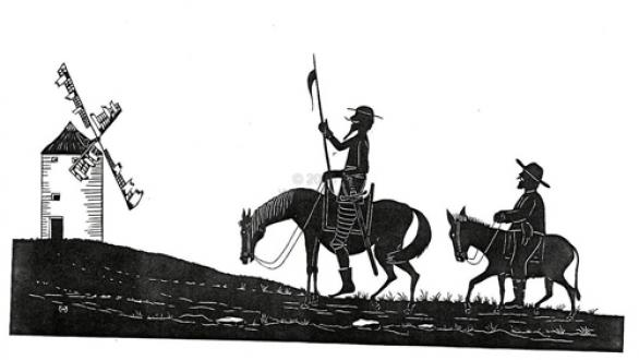 Quijote and sancho