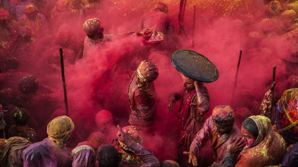 Rojo el color del amor, India. 2018